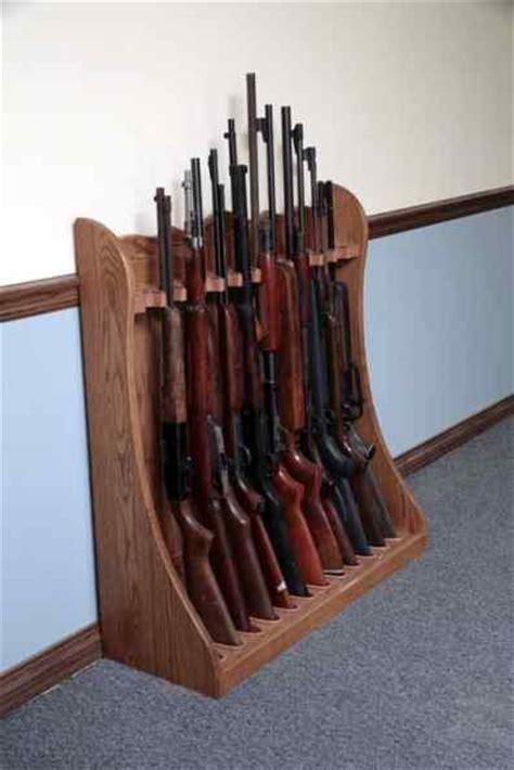 Floor Gun Rack by Amish Made Gun Rack Gun Cabinetry Gun Pistol