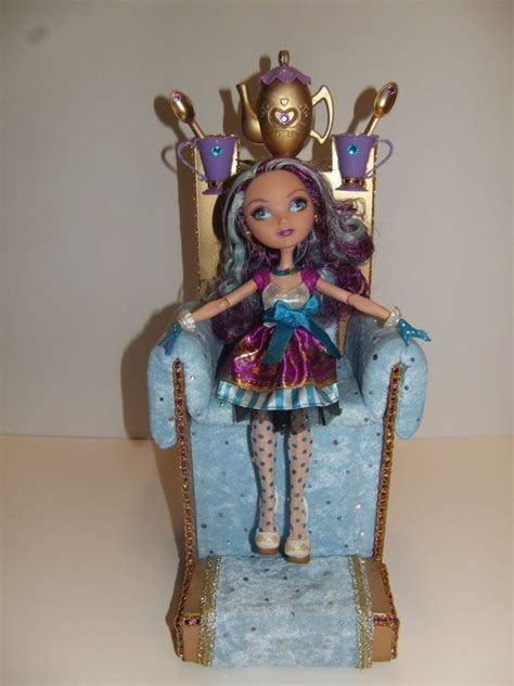 ever after high couch furniture for ever after high dolls handmade throne with