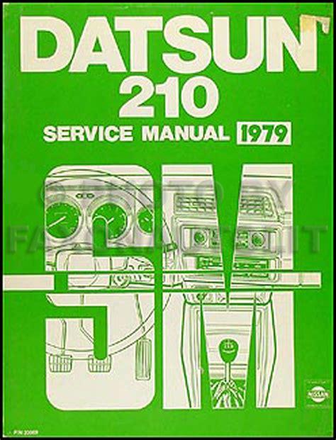 automotive repair manual 1979 nissan 280zx user handbook 1979 datsun 210 repair shop manual original