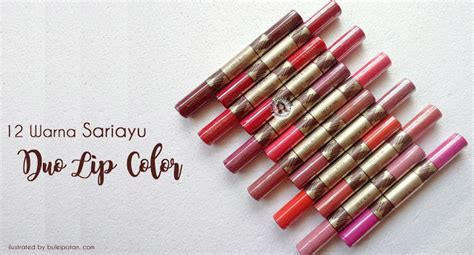 Review Lipstik Sariayu part 2 lipstik matte plus lip gloss dan motd dari