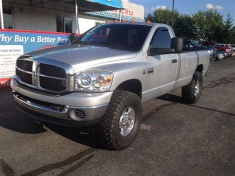 how to fix cars 2007 dodge ram 2500 engine control sell used 2007 dodge ram 2500 slt standard cab pickup 2 door 5 9l in centerville indiana