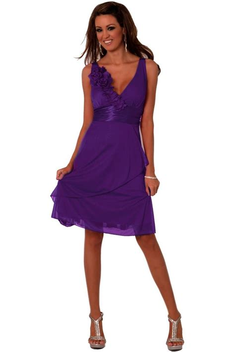 Mini Dress Gaun Terusan Blue V Neck L 151821 Original Sale sleeveless floral stretch sheer v neck empire mini