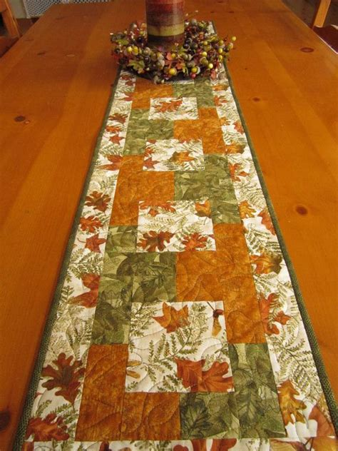 fall table runners to 17 best ideas about fall table runner on