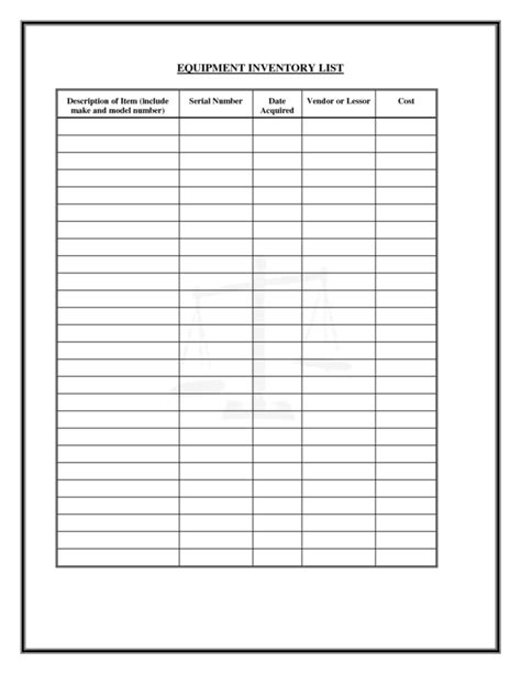 office supply list template office supply inventory list template sle helloalive