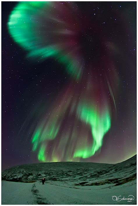 beautiful lights borealis northern lights put on an show bit