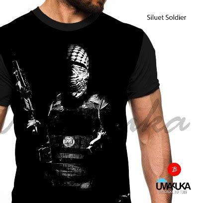 New Iron Sp Kaos 3d Umakuka grosir kaos palestina murah siluet soldier kaos 3d bagus