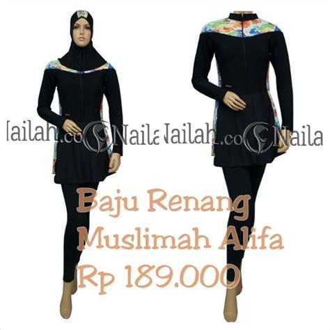 Baju Renang Muslimah Rahmani baju renang muslimah alifa harga rp 189 000 terbuat