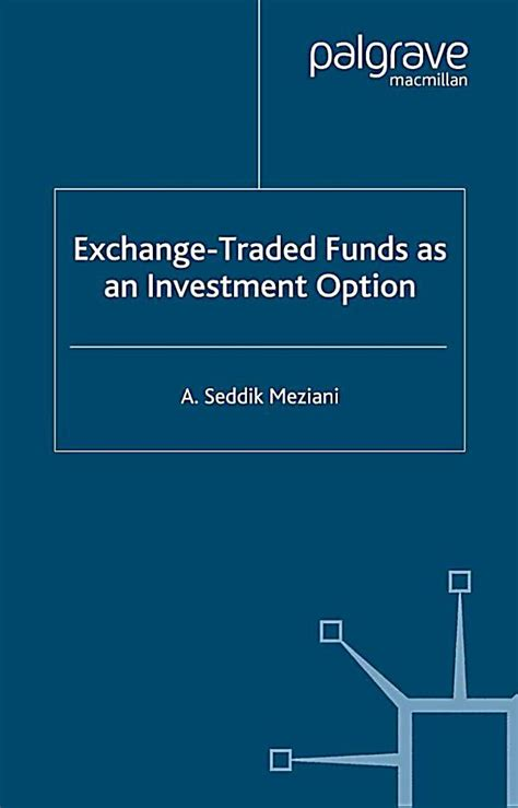 finance and capital markets series exchange traded funds
