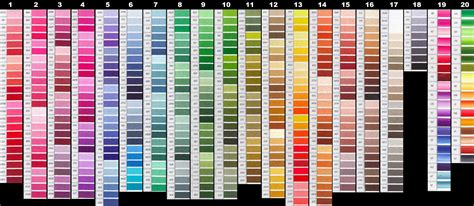 color rgb values rgb values for dmc floss