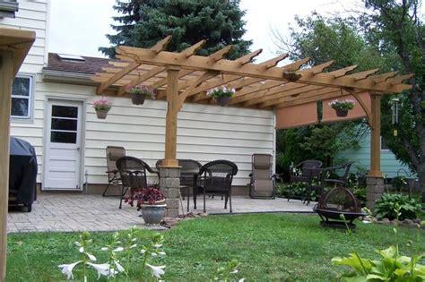 pergola attached to house pergola attached to house garden ideas pinterest