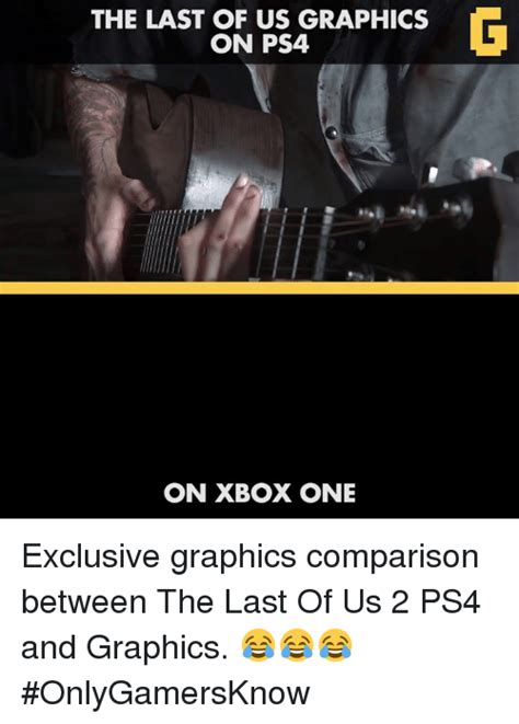 The Last Of Us Memes - 25 best memes about graphic comparison graphic