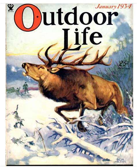 outdoor life outdoor life january 1934 coverart com coverart com