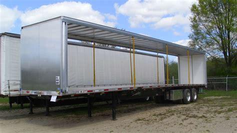 side curtain trailer custom curtainside systems