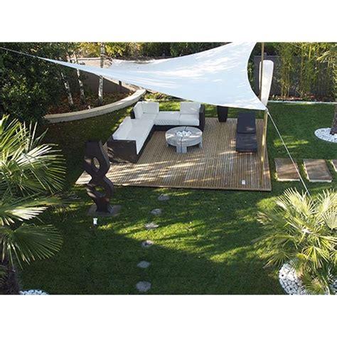 tenda a vela triangolare vela ombreggiante triangolare da giardino hdpe traspirante