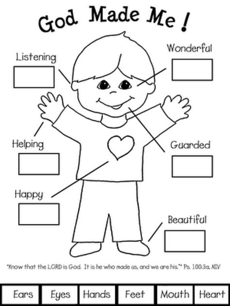 printable coloring pages god made me special beautiful god made me special coloring page free printable