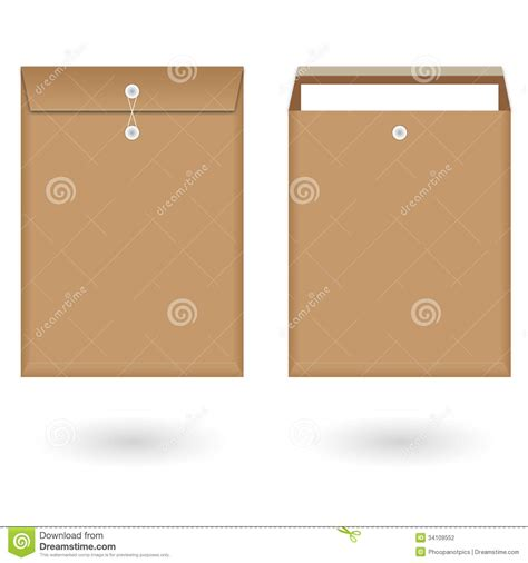 envelope background design brown envelope stock photography image 34109552