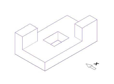 isometric projection drawing