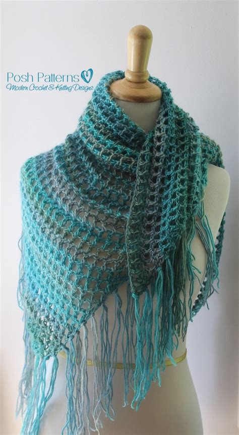 pattern for triangle shawl crochet triangle scarf pattern crochet shawl pattern