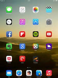 home screen show us your air home screens iphone ipod