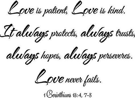 love is patient love is kind tattoo 1 corinthians 13 4 7 8 is patient is