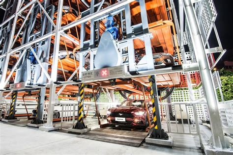 Alibaba Ford | alibaba and ford unveil car vending machine in china