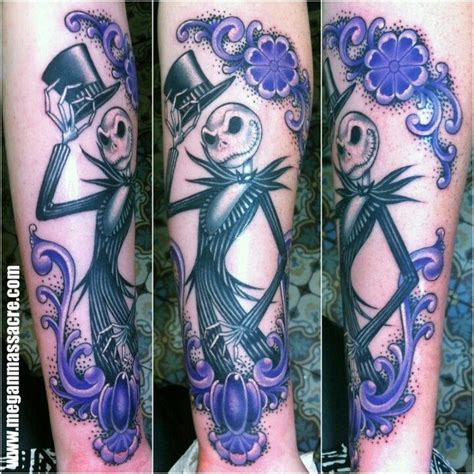jack skellington tattoo gorgeous skellington tatoo megan the