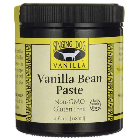 can dogs vanilla singing vanilla vanilla bean paste 4 fl oz 118 ml jar swanson health products