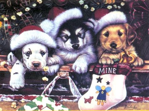 christmas wallpaper with animals christmas dog cartoons quotes quotesgram