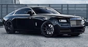 Wrath Rolls Royce Rolls Royce Wraith Poses On 22 Quot Matte Black Wheels