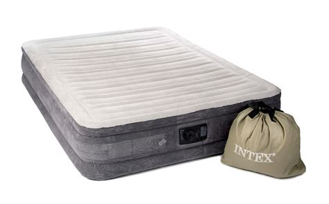 intex air beds intex comfort plush inflatable air bed buy from