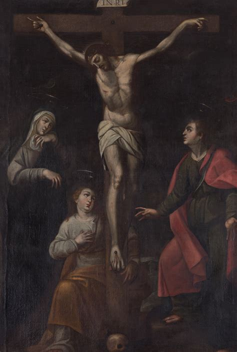 imagenes de jesus crucificado arte colonial colecci 243 n de arte del banco de la