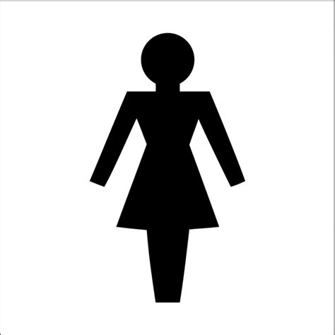 female bathroom symbol image gallery toilet symbol