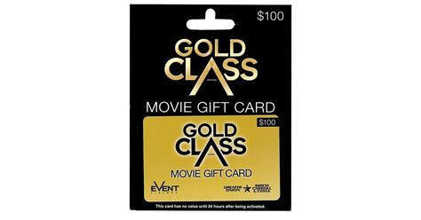 Gold Class Gift Card - terms event cinemas autos post