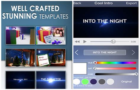 free intro templates for android 5 best free youtube intro maker apps for iphone and