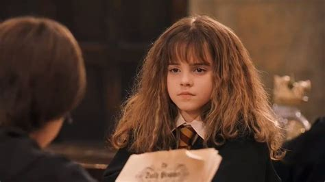 hermione granger in the 1st movoe hermione granger in hp and the sorcerer 180 s stone