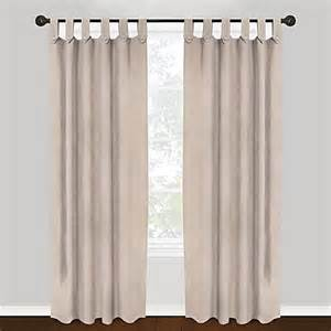 Curtains With Tabs Park B Smith Vintage House 100 Cotton Brighton Tab Top Window Curtain Panels Bed Bath Beyond