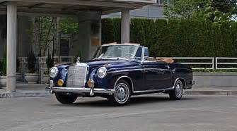 Antique Mercedes For Sale Classic Car For Sale Car Of The Day 1958 Mercedes