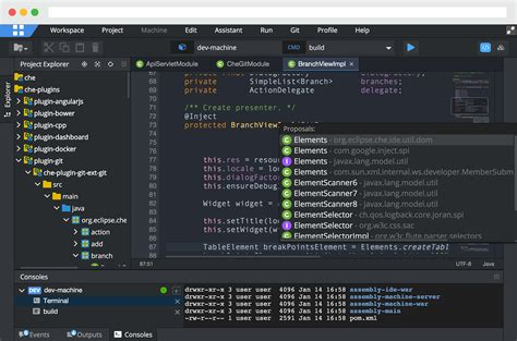eclipse editor themes plugin introducing eclipse che beta the eclipse foundation