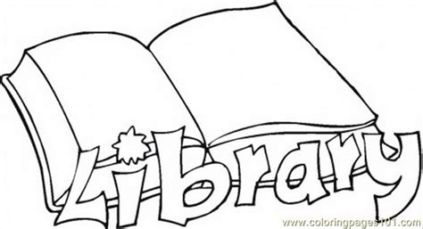 printable picture book library education books free printable coloring page