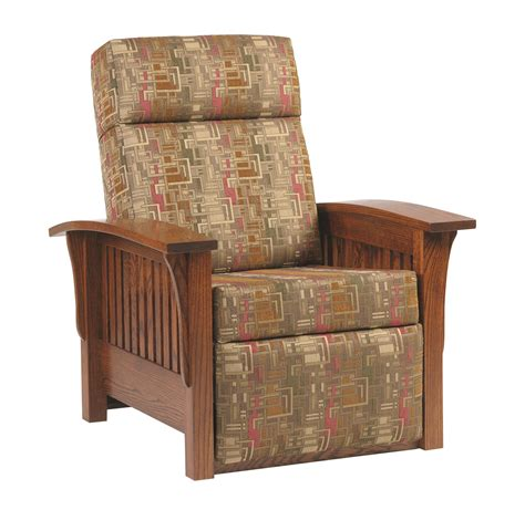 Mission Chair Recliner by Amish Mission Recliner Chair
