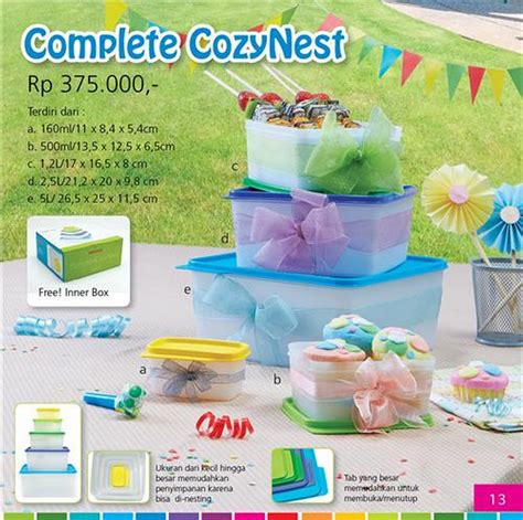 Terbaru Tupperware Cool N Chic tupperware indonesia