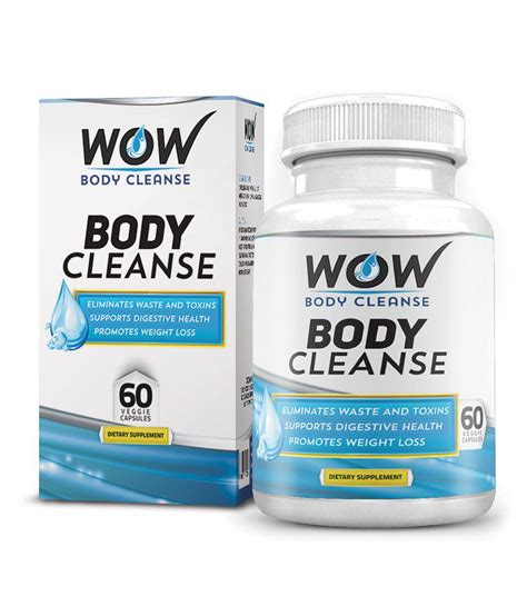 Http Www Livingthenourishedlife Detox Q Is Cleansing Order Really by Wow Cleanse 60 Veg Capsules Pack Of 1 Buy Wow