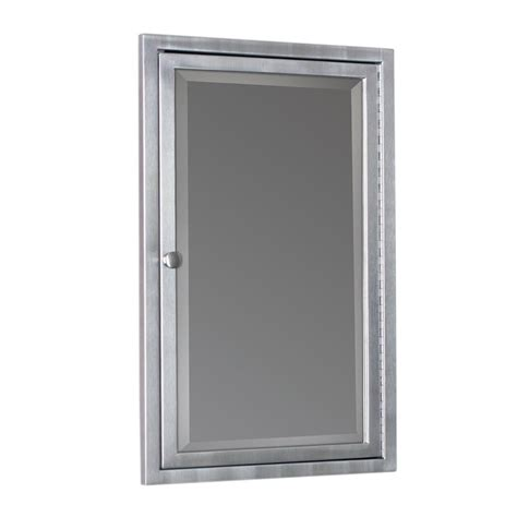 brushed nickel bathroom cabinet surface mount medicine cabinet brushed nickel mf cabinets