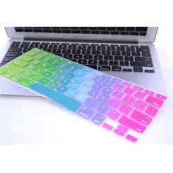 color keyboards rainbow color silicone keyboard cover protector skin for