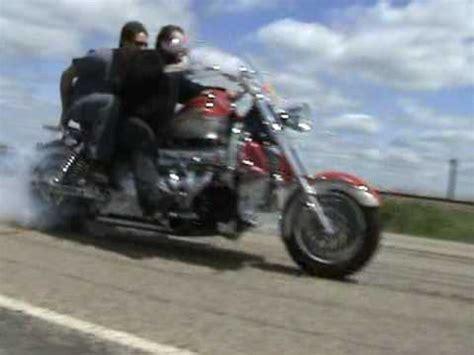 Bosshoss Bike Burnout by Hoss Burn Out 120mph 1 4 Mile Burn Dragtimes