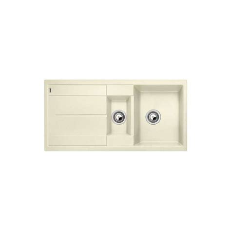 Evier Blancometra by Evier Blancometra 6s 1 Cuve 1 2 Egout Anthracite Blanco