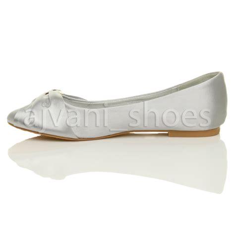 evening shoes flats womens wedding bridal evening ballerina ballet