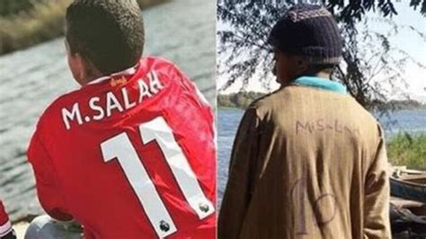 Tshirt Liverpool Mane And Salah Sepaket salah gives lad a liverpool shirt in truly beautiful gesture sportbible
