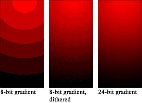 color banding my ist colour depth definition