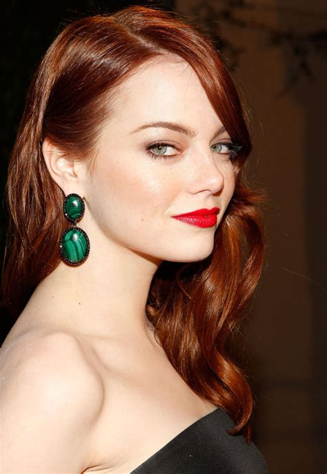 emma stone hair color emma stone it s all about the zhuzh